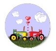 Tractor Wedding Envelope Seal