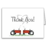 Matching Thank-You Cards