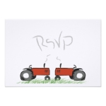 Matching RSVP Cards